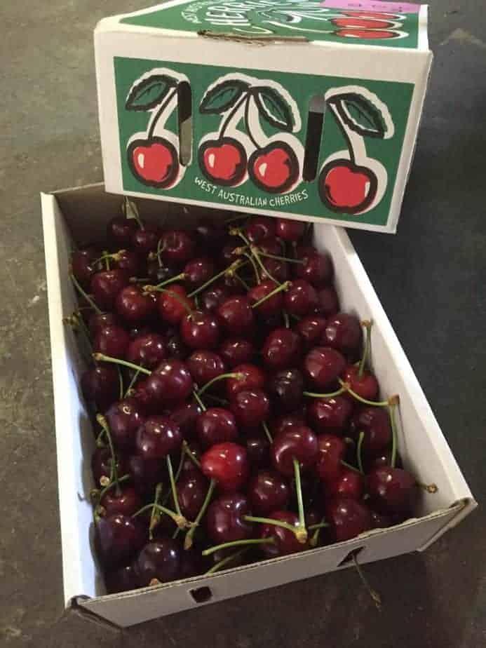 TGB manjimup cherries