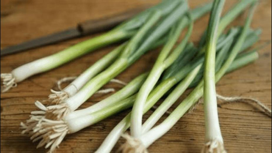 TGB spring onions