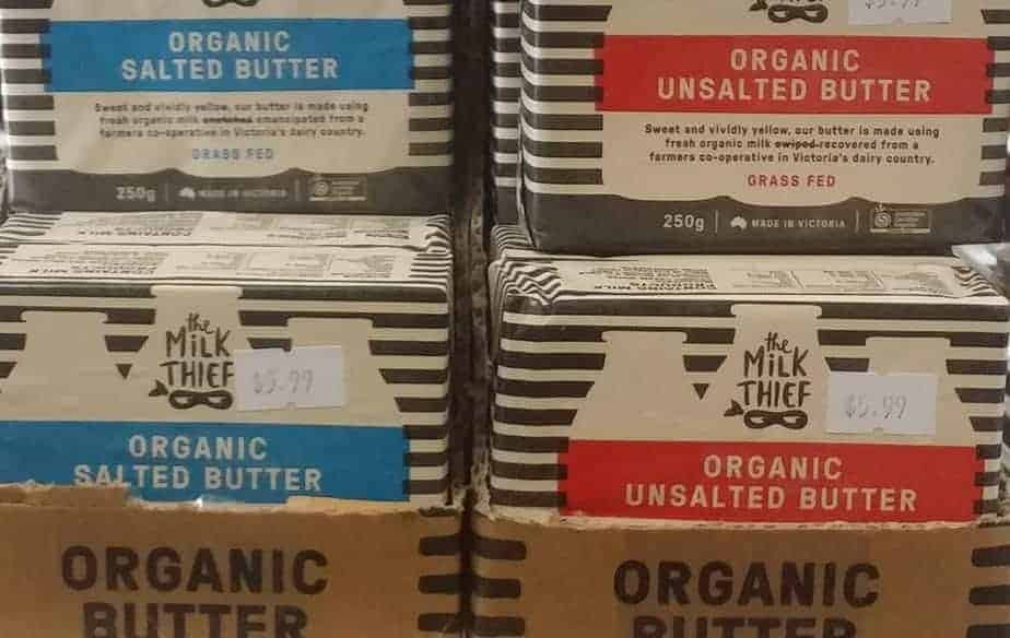 The Milk Thief Organic Butter
